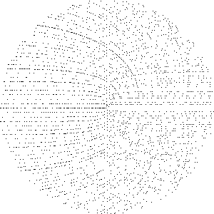 A Sacks spiral consisting of the first 22,800 natural numbers.